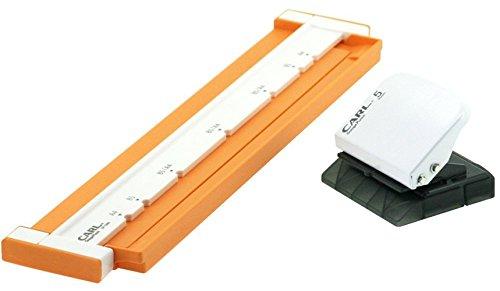 Carl Neo Gauge 26-Hole or 30-Hole Punch - Orange [Office Product]