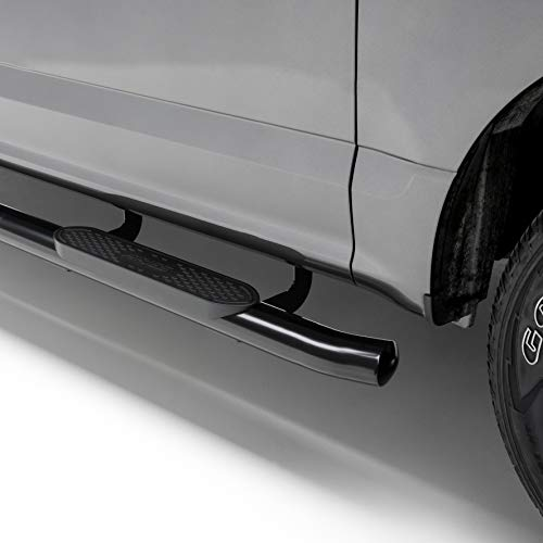 ARIES S222012 4-Inch Oval Black Steel Nerf Bars Select Toyota Tundra ()