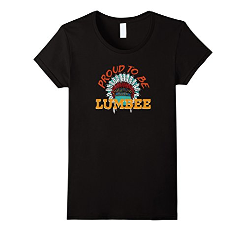 Women's Proud To Be Lumbee Native American Heritage T-shi...