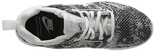 Donna Print Da 0 Kaishi 2 Nike Nero Nero bianco Wmns Scarpe Ginnastica qwIR8g
