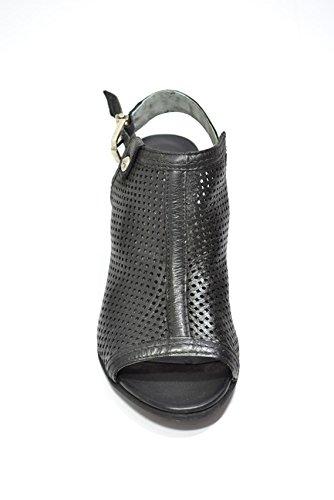 Nero Giardini Polacchini spuntati nero 5661 scarpe donna P615661D
