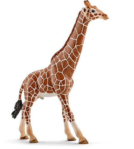 Schleich 14749 - Spielzeugfigur, Giraffenbulle