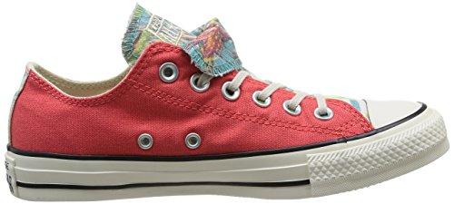 Converse All Star Ox Dbl Tongue Graphic Damen halbschuhe Blush/Oasis