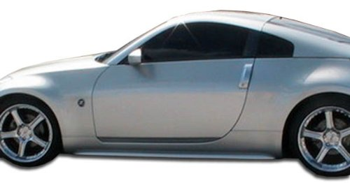 Duraflex ED-ILI-855 S Design Side Skirts Rocker Panels - 2 Piece Body Kit - Compatible For Nissan 350Z 2003-2008