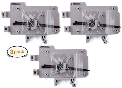 - DIN Rail Mount for Arduino UNO/Mega (3-Pack)