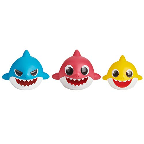 Baby Shark 61170 Bath Squirt Toy-3-Pack