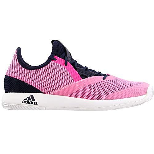 adidas Women's Adizero Defiant Bounce Tennis Shoe, Legend Ink/Shock Pink/White, 5.5 M US by adidas (Image #1)