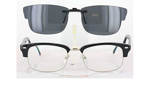 aae6261c096 Amazon.com  GEEK GEEK-201-53X20 POLARIZED CLIP-ON SUNGLASSES (Frame NOT  Included)  Health   Personal Care