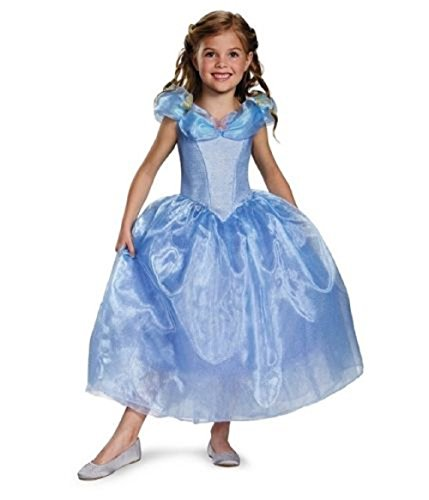 [Disguise Cinderella Movie Prestige Costume, S 4-6X] (Disney Princess Cinderella Prestige Costumes For Babies)