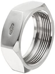 Dixon 13H-G250 Stainless Steel 304 Sanitary Fitting, Bevel Seat Hex Union Nut, 2-1/2\