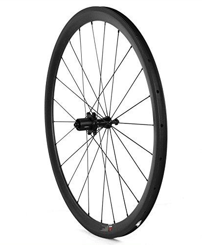 Lightcarbon T700 High modulus carbon fiber road bike wheel Wide U Shape 700C depth 80mm width25mm SLR ceramic hub Pillar PSR1420 spoke aero light Shimano/Sram/Campy 10/11 speed tubular Rim brake 1632g