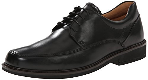 ECCO Men's Holton Apron Toe Oxford, Black, 43 EU/9-9.5 M ()