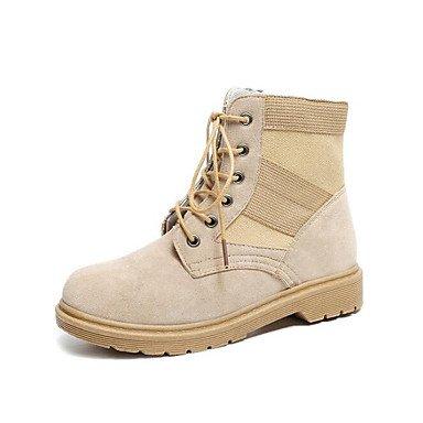 Scarpe Stivali Donna Cammello Wuyulunbi Autunno Combattere Casual EU40 Stivali Comfort CN41 UK7 Nero US9 Per Primavera xwadYqdH