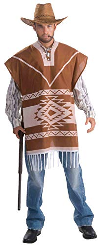 Men's Lonesome Cowboy Costume, Tan, One Size