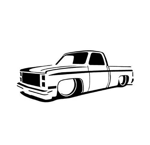 Amazon Com 73 87 Chevy Truck Slammed Lowrider Dropped C10