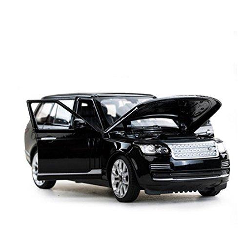 KMT 1:24 Scale Range Rover SUV Alloy Diecast Car Models Model for Kids (Black)