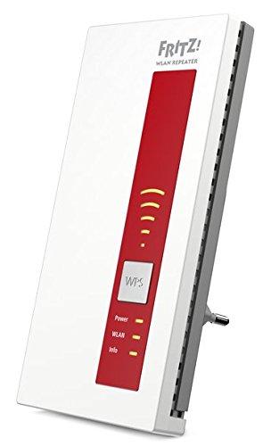 AVM FRITZ!WLAN Repeater 1160 (Dual-WLAN AC + N bis zu 866 MBit/s 5 GHz + 300 MBit/s 2,4 GHz)