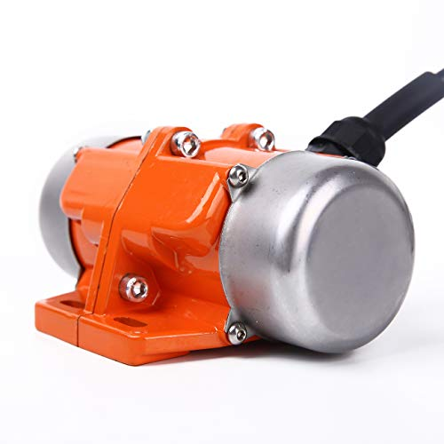 (BIZOEPRO Concrete Vibrator Vibration Motor 90W Mini Vibrating Motor Single Phase Aluminum Alloy AC 110V 3600rpm Vibrating Vibrators for Shaker Table)