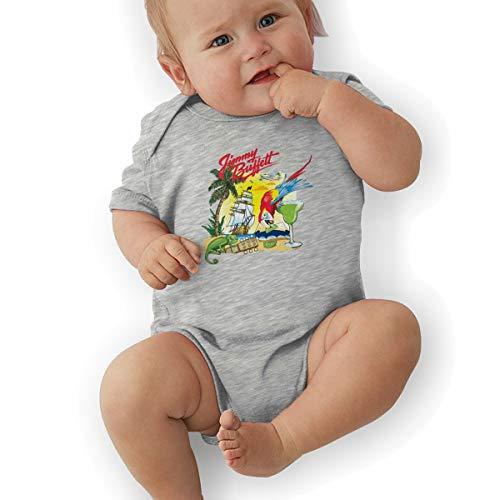 SusanHuling Jimmy Buffett Unisex Baby Boys Girls Romper Bodysuit Infant Funny Jumpsuit