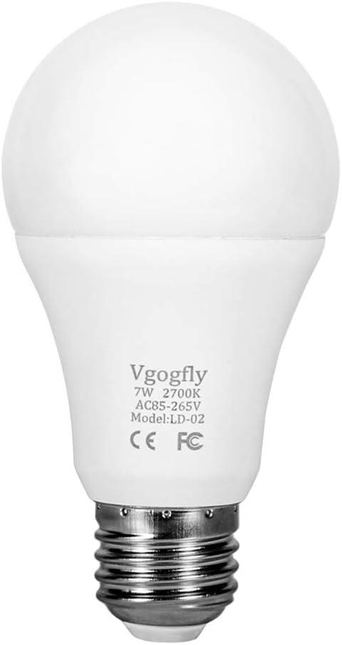Best Improve Security Light Bulb: VgogFly Dusk to Dawn Light Bulb