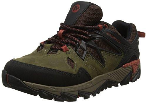 Merrell Mens All Fiammata 2 Gtx Trekking E Scarpe Da Trekking Verde (oliva Scuro)