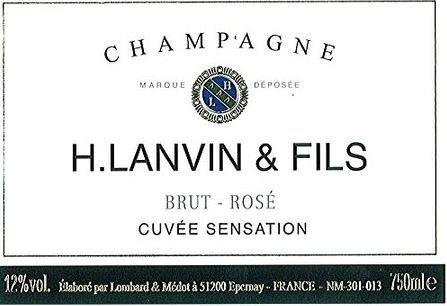 H. Lanvin & Fils BRUT - ROSE CUVEE SENSATION