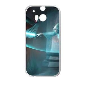 HTC One M8 Cell Phone Case White Star Wars 002 Pelda