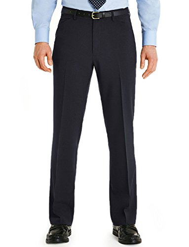 Farah - Pantalon -  Homme W x L -  Bleu - Bleu marine - Large
