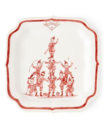 Juliska Country Estate Reindeer Games Party Plate - The Coaches