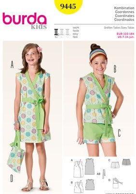 Burda fácil para Ropa de niños e Instrucciones para Hacer Vestidos ...