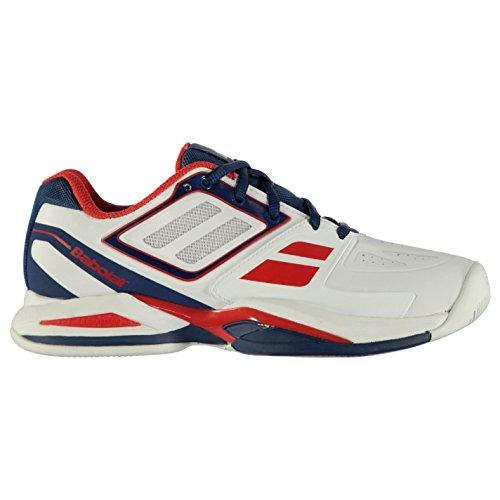 Babolat Propulse cour Chaussures de tennis pour homme Blanc Baskets Sneakers Chaussures de sport