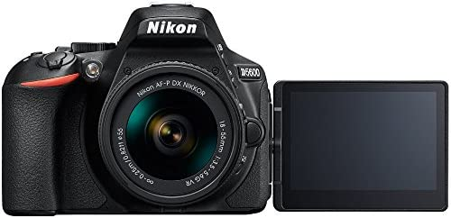41a0MvGiFlL. AC  - Nikon D5600 Digital SLR Camera & 18-55mm VR DX AF-P Lens - (Renewed)