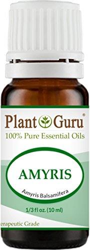 Amyris Oil - Amyris Essential Oil 10 ml. 100% Pure Undiluted Therapeutic Grade.