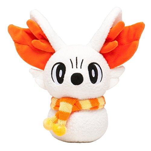 Pokemon center Pikachu Christmas 2014 Plush Doll (sweets picnic) Fennekin/Fokko snowman