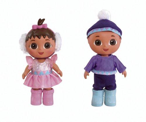 Fisher-Price Dora The Explorer Sparkling Snow Twins