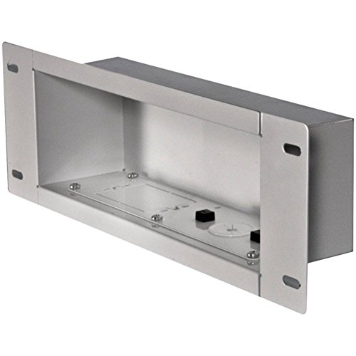 Medium In Wall Box - Peerless IBA3-W In-Wall Metal Box Medium White W/Knock Out Electronics Computers Accessories