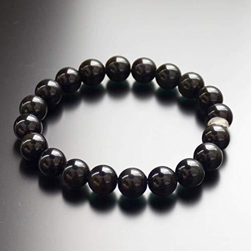 Black Onyx Bead Bracelet Chakra Energy Protection Gift for Men & Women 10mm 8mm