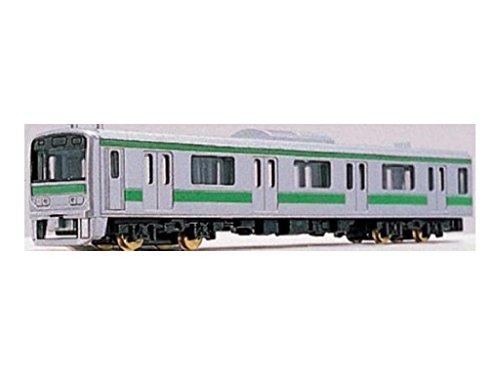 【NEW】 train N게이지 다이캐스트 스케일 모델 No.62 통근형 그린