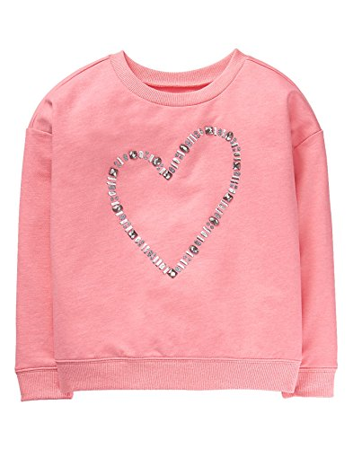 Gymboree Girls' Little Icon Popover, Coral, S from Gymboree