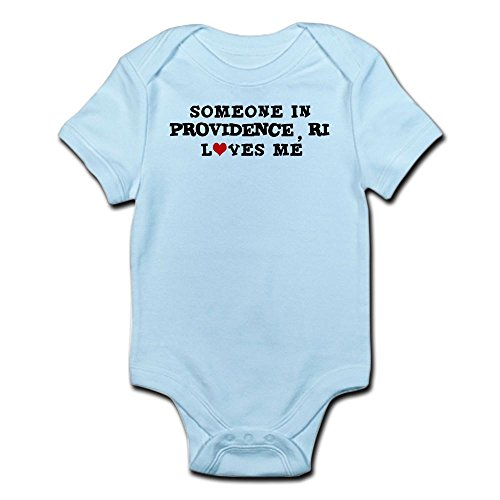 CafePress Someone In Providence Infant Creeper - Cute Infant Bodysuit Baby - 1 Providence Place