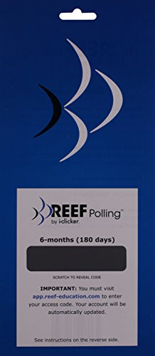 Book cover from REEF Polling Mobile Student by i-clicker