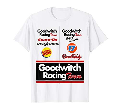 Race car driver Halloween costume t-shirt for men women -