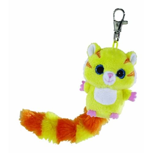 Aurora World World Yoohoo and Friends Tumo Tigre Mini Porte-clés (Jaune)