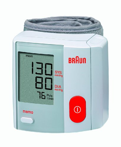 BRAUN BP1600,NEW GENUINE CLINICALLY TESTED WRIST BLOOD PRESSURE MONITOR
