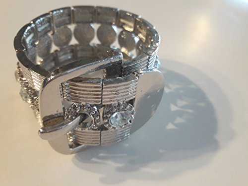 Silver Looking Costume Jewelry Bracelet, Unique, Divine, one of a kind! (Homemade Halloween Minnie Mouse Costumes)
