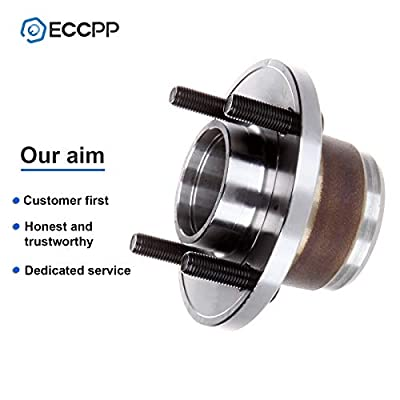 ECCPP Replacement for Rear Wheel Hub Bearing Assembly 4 Lugs for 2000-2009 Ford 521002: Automotive