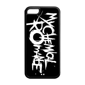 Danny Store Hard Rubber Protection Cover Case for iPhone 5C - My Chemical Romance