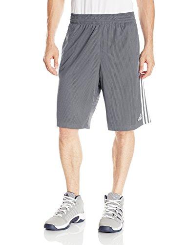 Adidas Custom Fit Shorts (adidas Performance Men's Triple Up 3.0 Shorts, Onix Black, Small)