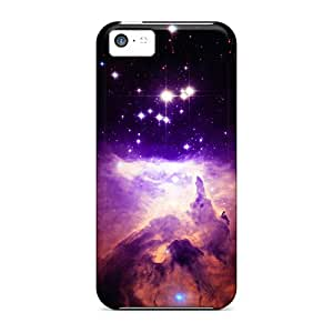 Tpu Case Cover Compatible For Iphone 5c/ Hot Case/ Space Born