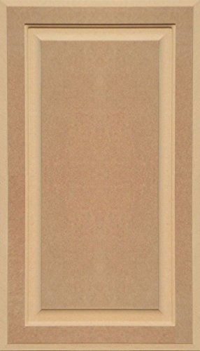 Unfinished Mdf Cabinet Door Square With Raised Panel By Kendor 28h X 16w